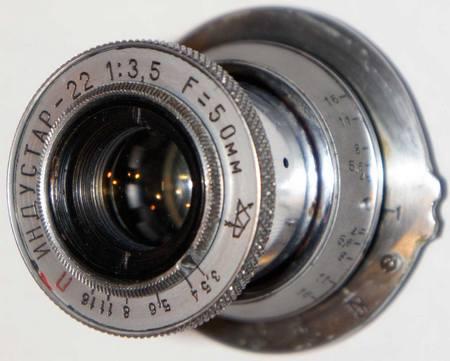 Индустар-22 50 мм/ f3,5