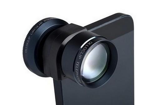 Съемный объектив Olloclip для iPhone 5