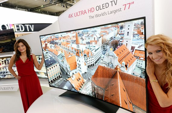 77-дюймовый изогнутый ULTRA HD OLED телевизор