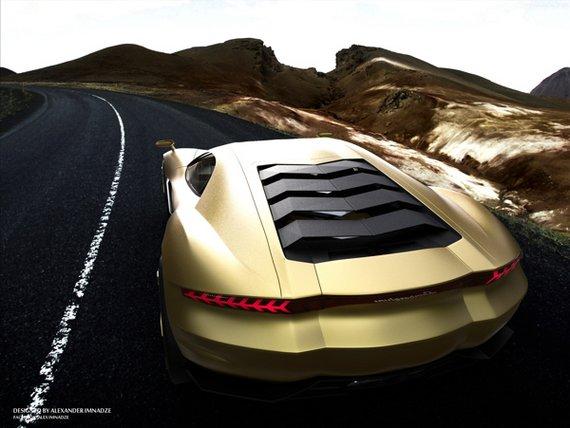 Lamborghini Miura concept GT-b1