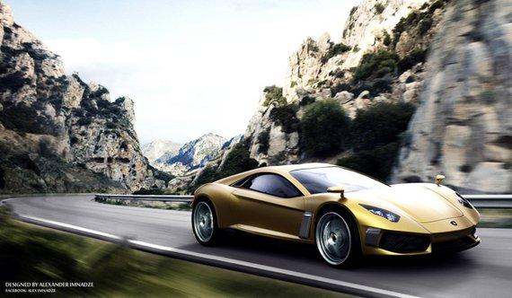 Lamborghini Miura concept GT-s