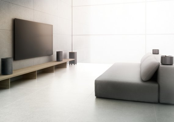 Акустические системы для домашнего кинотеатра Philips E-Series