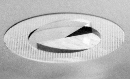 Фокусировочный экран с клиньями Додена (Nikon F3)