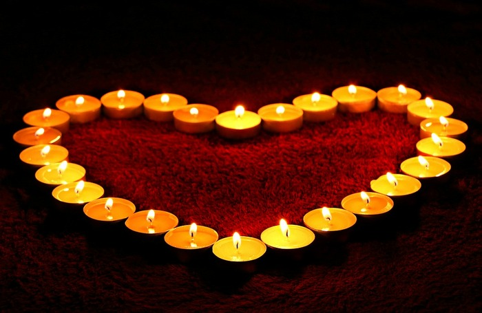 Съемка при свечах