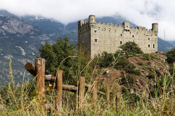 Замок Ussel