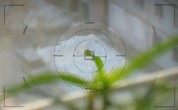 Изображение в видоискателе до фокусировки
