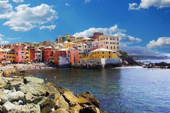 Генуя, рыбацкая деревня