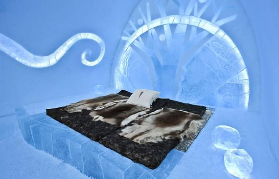 Ледяной отель Jukkasj?rvi в Швеции