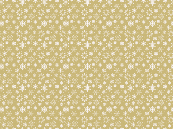 Golden-Snow-Flakes-Wrapping-Papper-Pattern-2