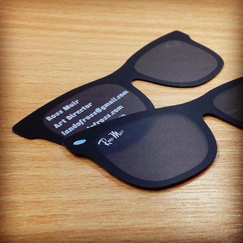 Визитка-очки