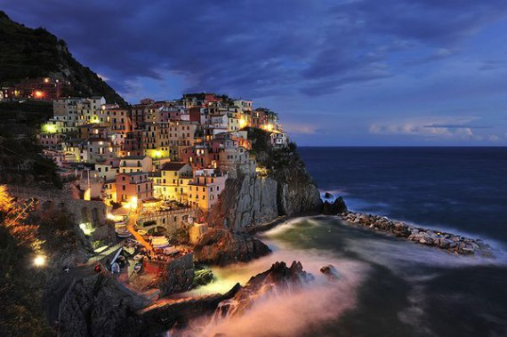 Manarola, Italy. Photograph by Paul Hogie