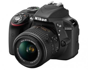 Nikon D3300 - недорогая любительская зеркальная фотокамера