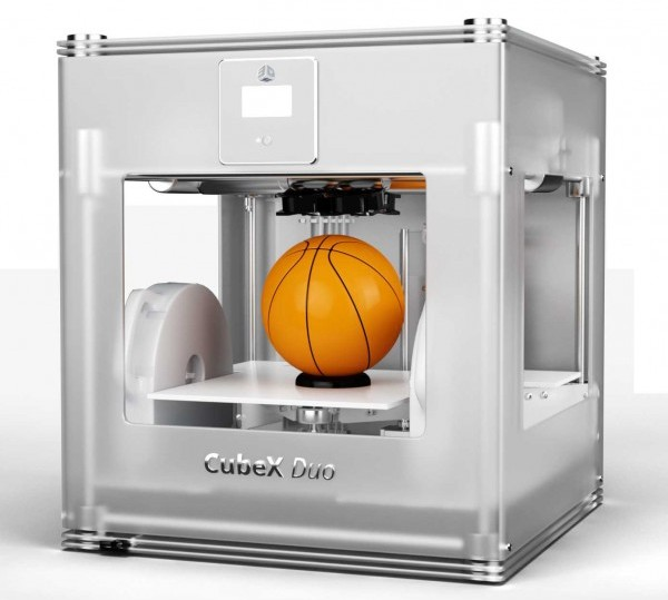 cubex duo 3d-printer