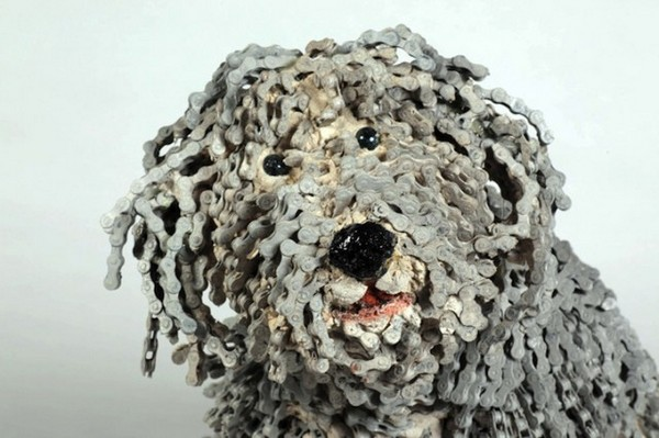 Скульптуры собак