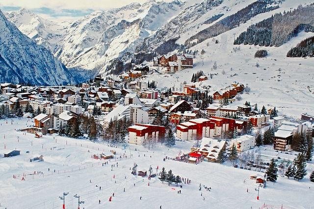 Франция, горные лыжи
