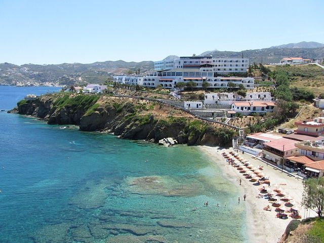 Крит, пляж