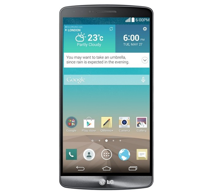 Смартфон LG G3 Metallic Black