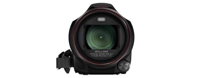 Видеокамера Panasonic HC-W850 . Передняя часть.