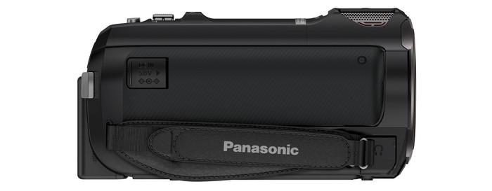 Видеокамера Panasonic HC-W850. Правая сторона.