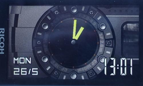 Часы Ricoh WG-4 GPS