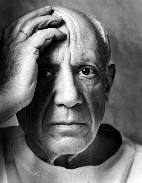 Пабло Пикассо, Арнольд Ньюман