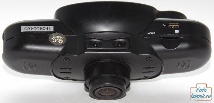 Каркам QX3 Neo - вид снизу