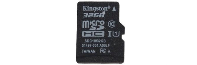 Kingston microSDHC/SDXC – Class 10 UHS-I