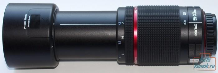 Обзор Pentax HD DA 55-300mm f/4-5.8 ED WR