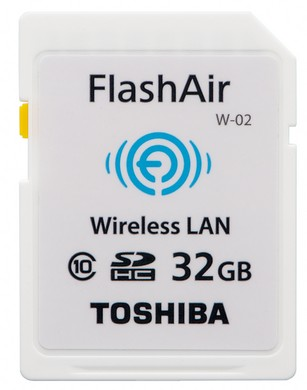 32GB Class 10 FlashAir™ SD Card