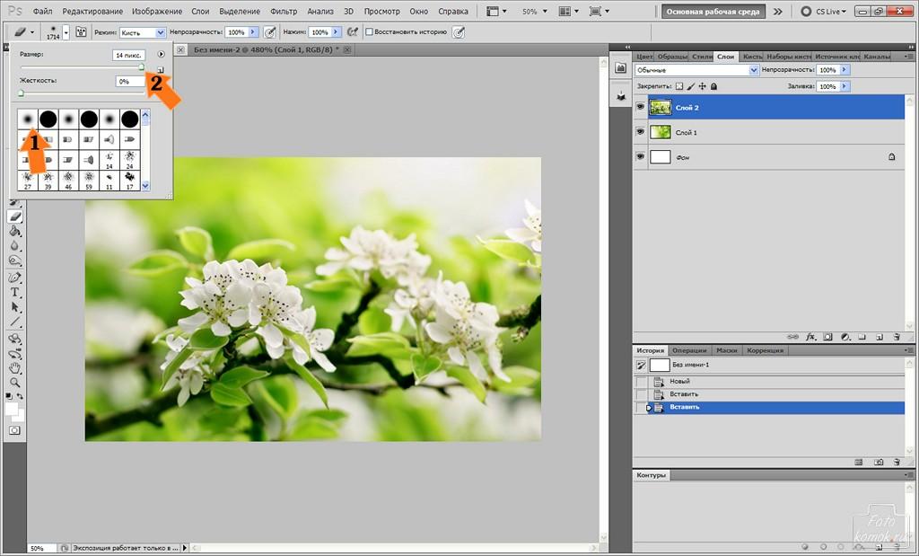 Как сделать фотографию в 100 пикселей
