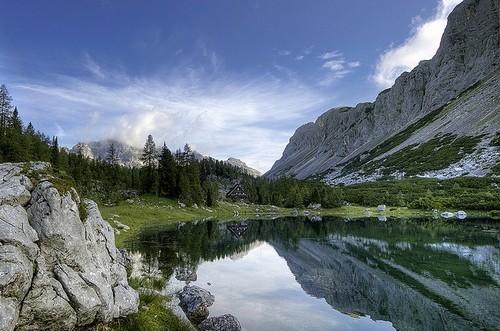 Озера парка Триглав