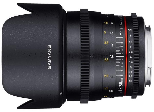 Samyang 50 мм T1.5 AS UMC