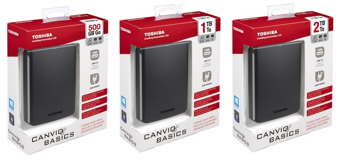 Canvio Basics 500Gb