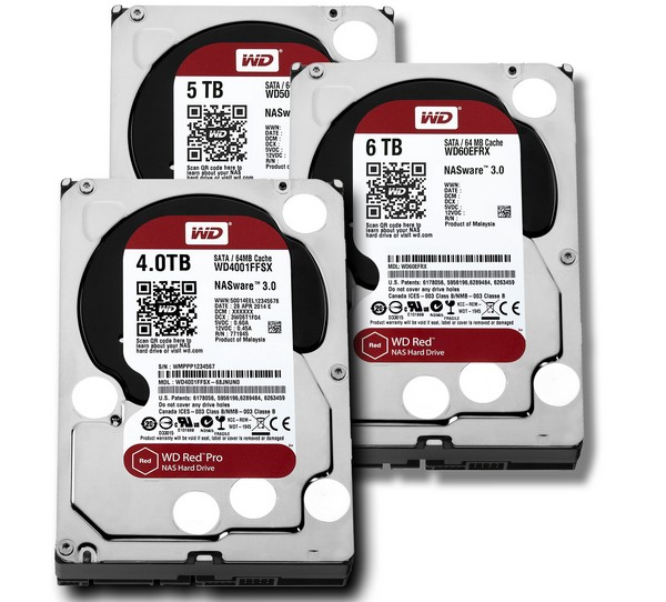 WD RED 6TB PRO