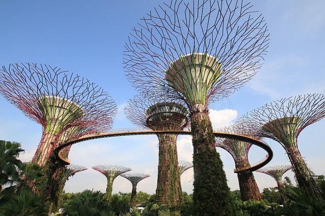 Сингапур, сады
