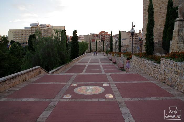 Граница старой части города