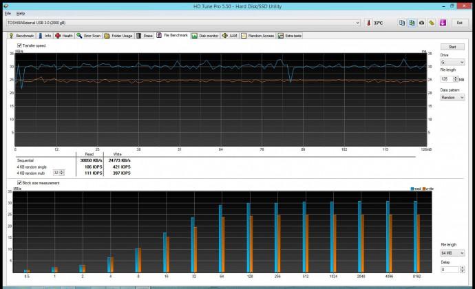 Обзор портативного накопителя Toshiba STOR.E BASICS 2TB