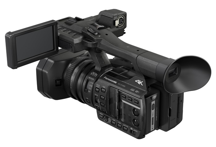 Panasonic Camcorder HC-X1000 Backslant with LCD