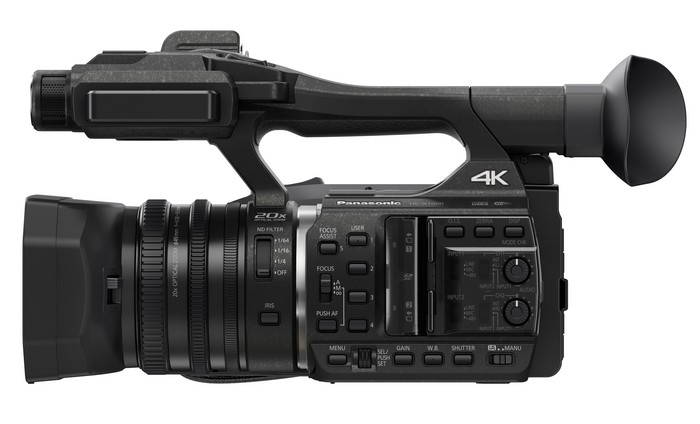 Panasonic Camcorder HC-X1000 Side