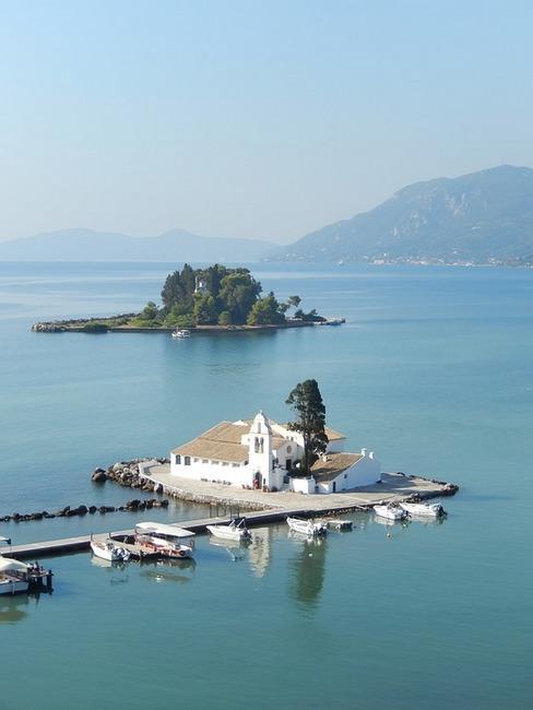 Корфу, монастырь