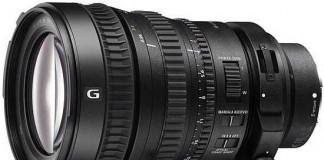 Объектив Sony FE PZ 28-135 F4 G OSS