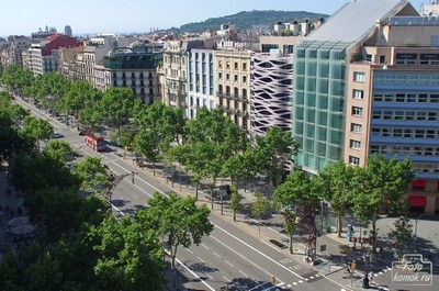 Passeig de Gracia, Барселона