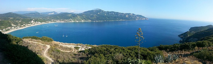 Панорама -Корфу