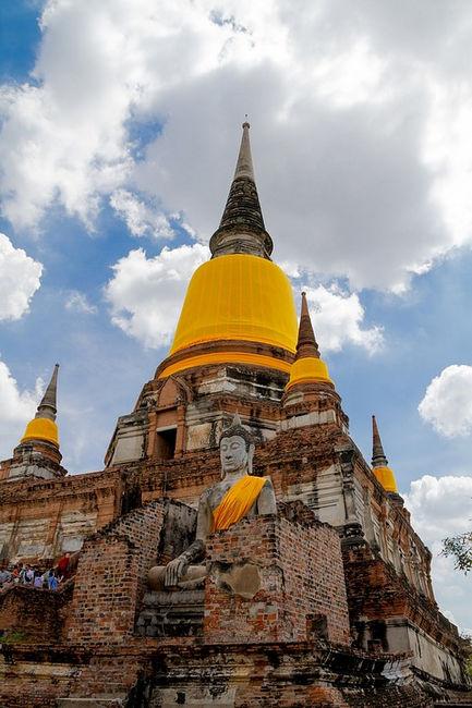 Храм Ват Яй Чай Монгкон, Аюттайя