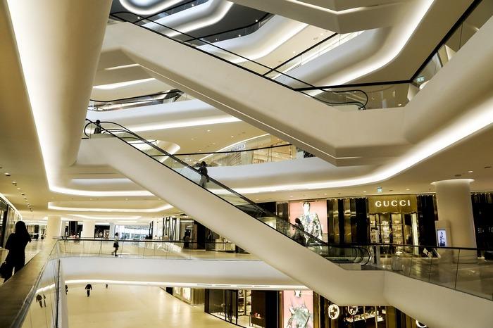 Фотографируем в торговых центрах