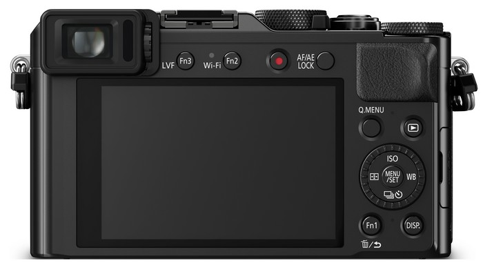 Panasonic Lumix DMC-LX100 - вид сзади