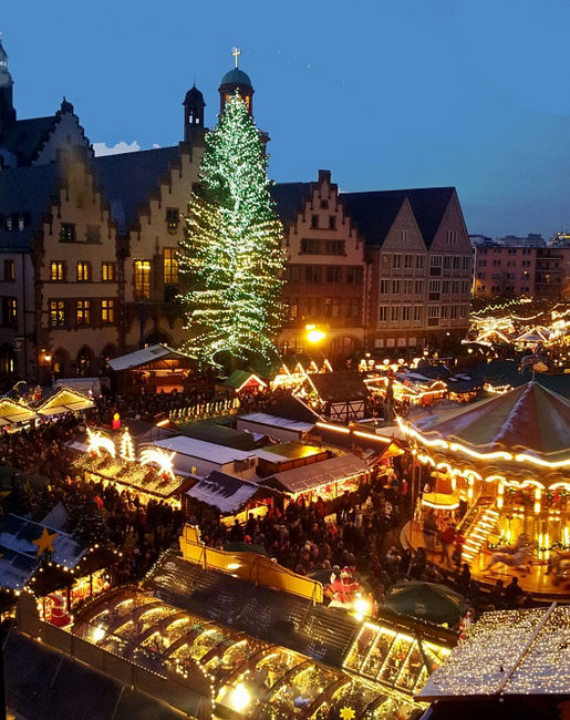 Рождественская ярмарка, Франкфурт