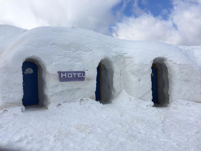 Иглу отель