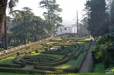 Сады Ватикана, январь