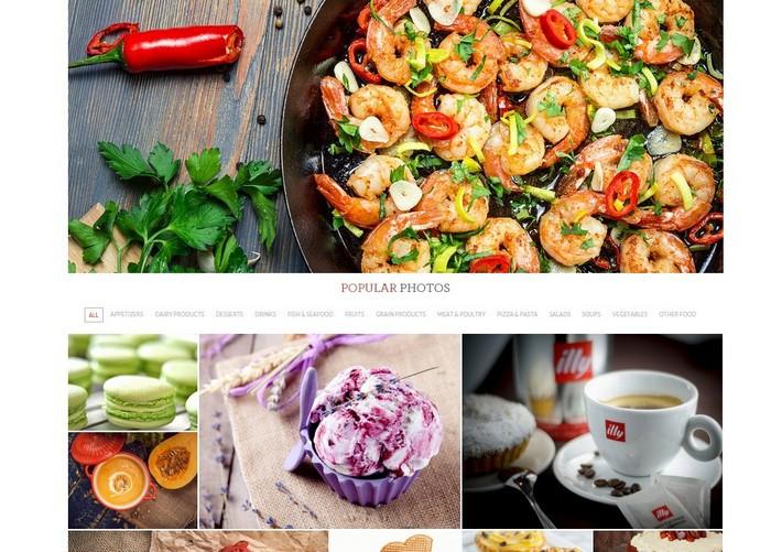 Сообщество фотографов еды